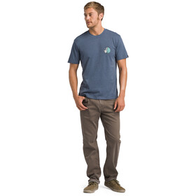 Prana KonaZona T-shirt Homme, denim heather